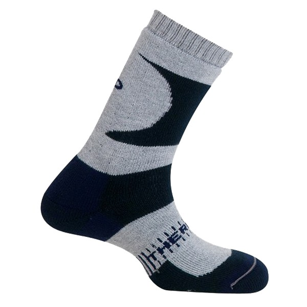 Trekingové ponožky Mund K2 šedé