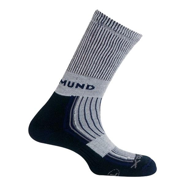 Trekingové ponožky Mund Pirineos šedé