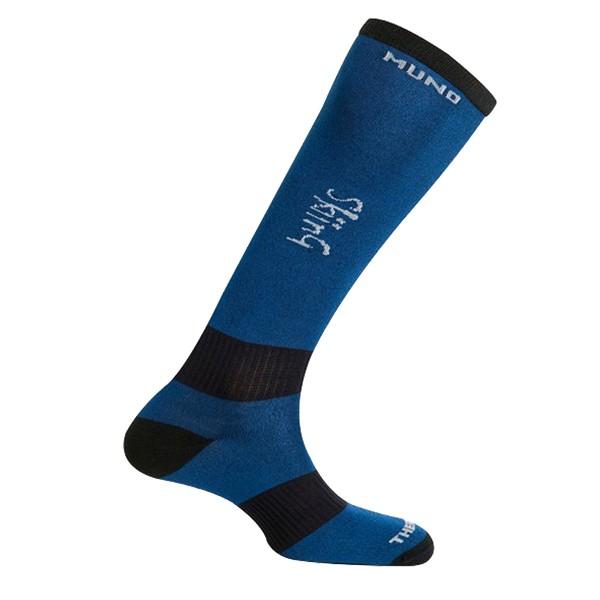 Lyžařské ponožky Mund Skiing tm.modré