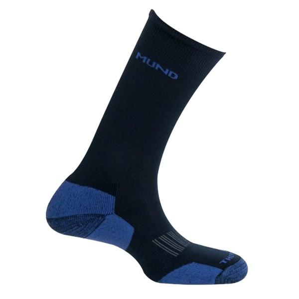 Lyžařské ponožky Mund CR-CO-SKIING tm.modré