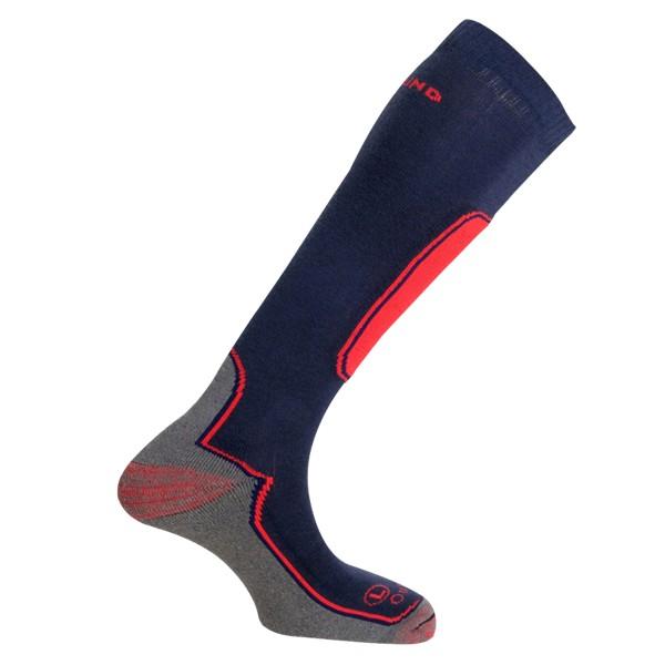 Lyžařské ponožky Mund Skiing Outlast modré