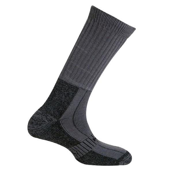 Trekingové ponožky Mund Explorer šedé