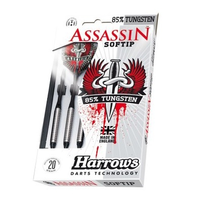 Šipky Harrows Assassin 16, 18g K2