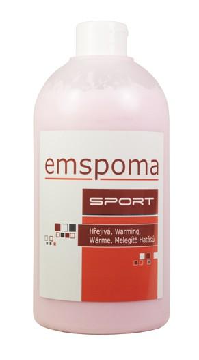 Masážní hřejivá emulze Emspoma 500ml