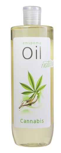 Konopný tělový olej Emspoma Cannabis 500ml