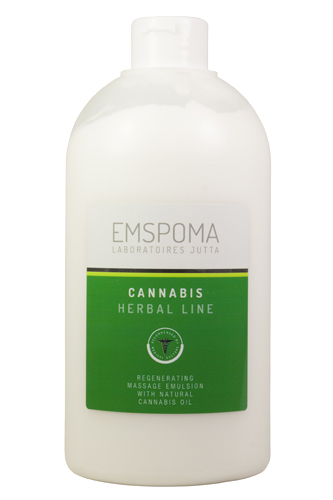 Emulze Emspoma Herbal Line Cannabis 1l
