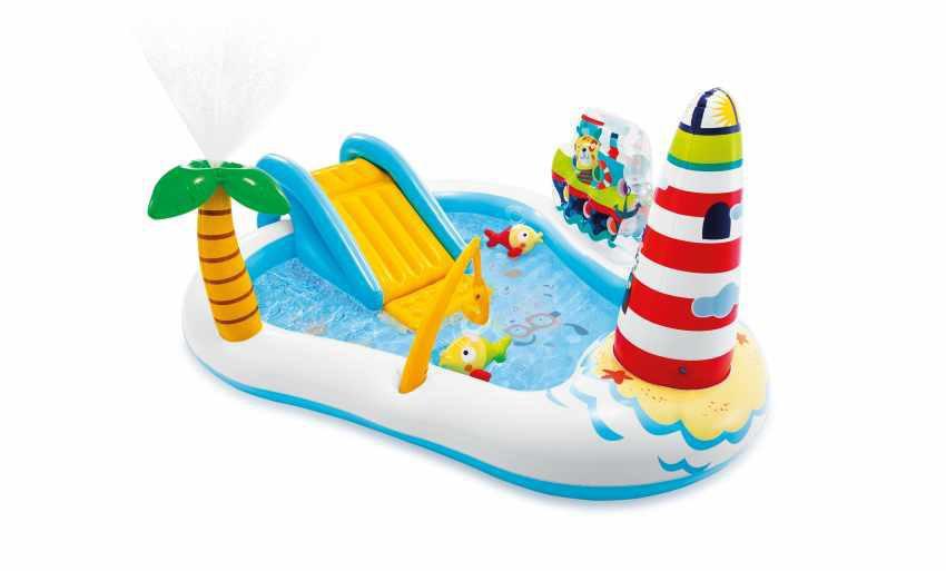 Hrací centrum Intex 57162 Fishing Fun 218x188x99cm