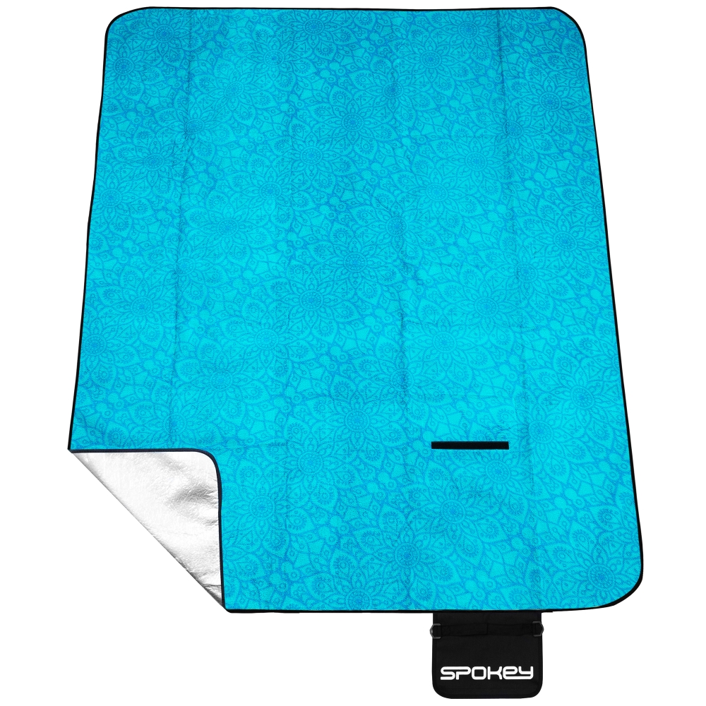 Pikniková deka s popruhem Spokey Picnic Mandala 180x210cm