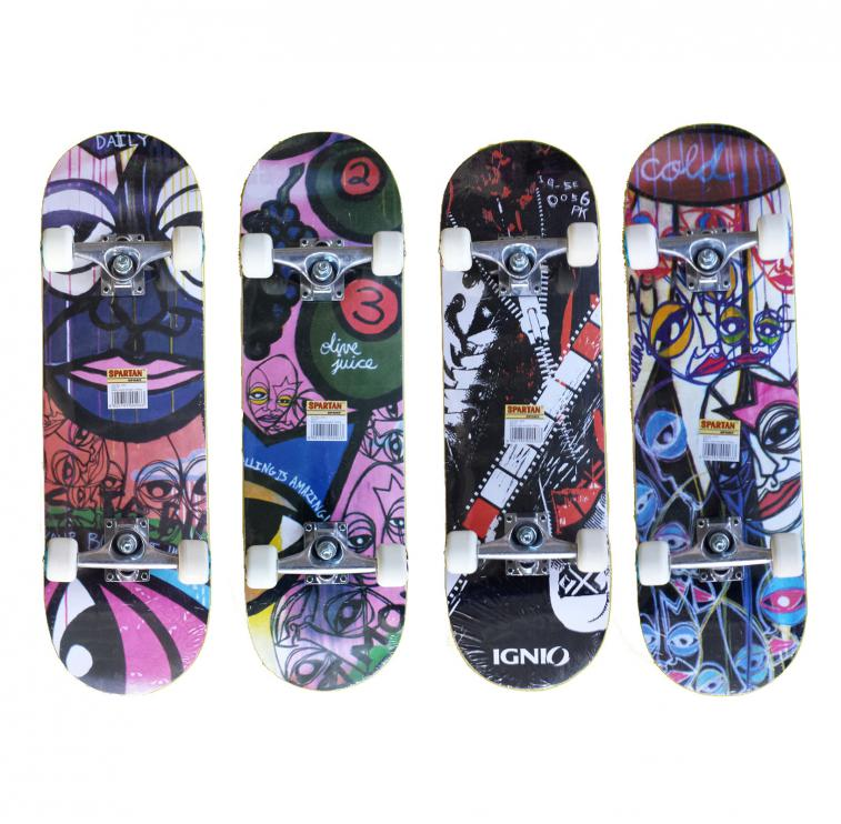 Skateboard Sedco Alu Junior 28 Spartan