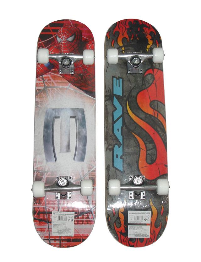 Skateboard závodní s protismykem Acra S3