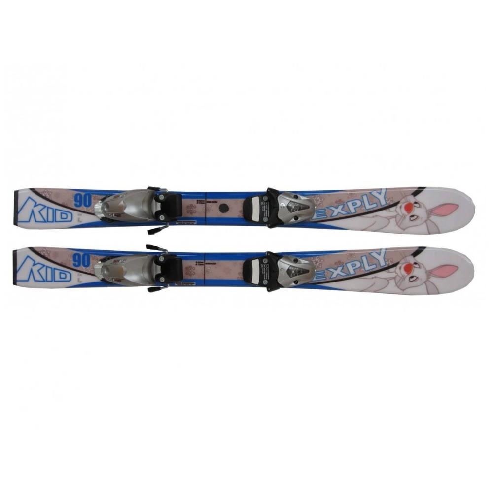 Dětské lyže Exply Kid Blue 90cm