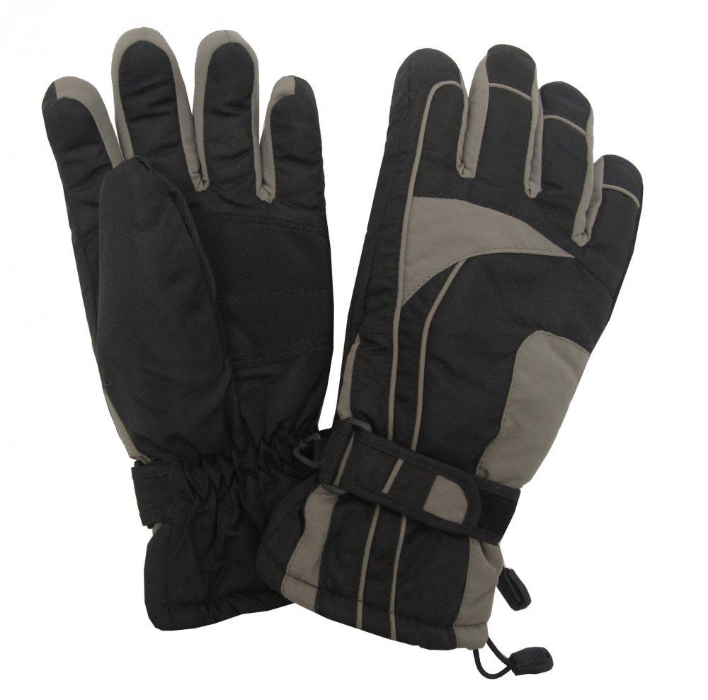 Dámské lyžařské rukavice Lucky B-4155 tmavě šedé