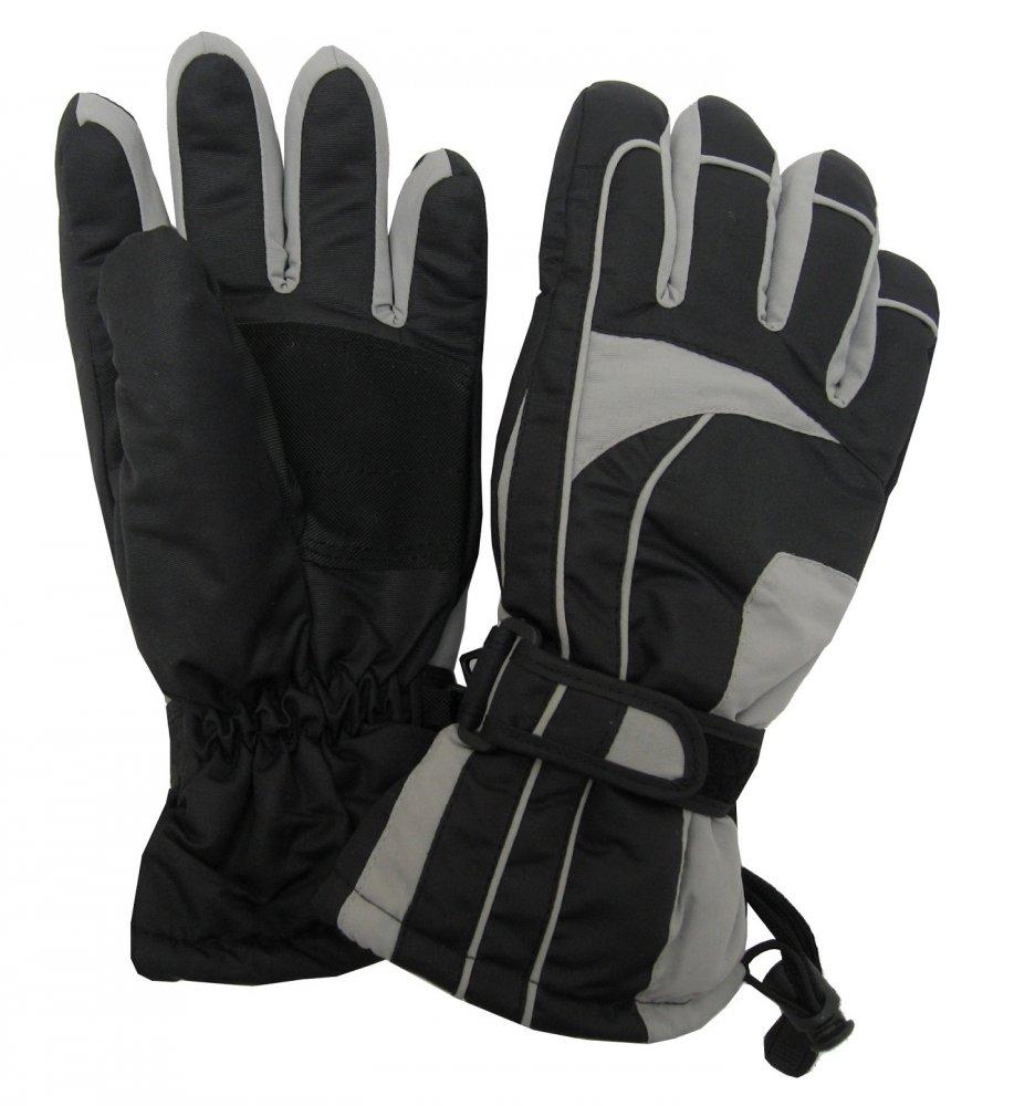 Dámské lyžařské rukavice Lucky B-4155 světle šedé