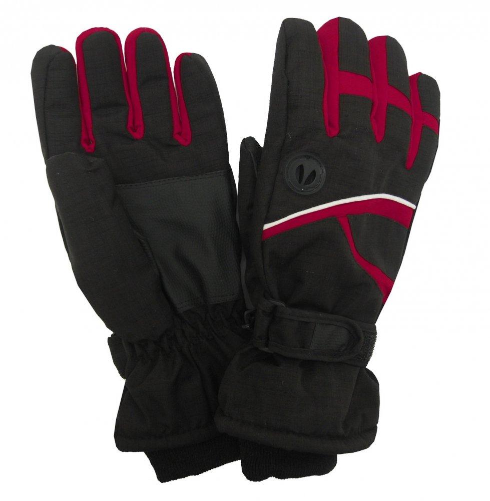 Pánské lyžařské rukavice Lucky A-51 červené