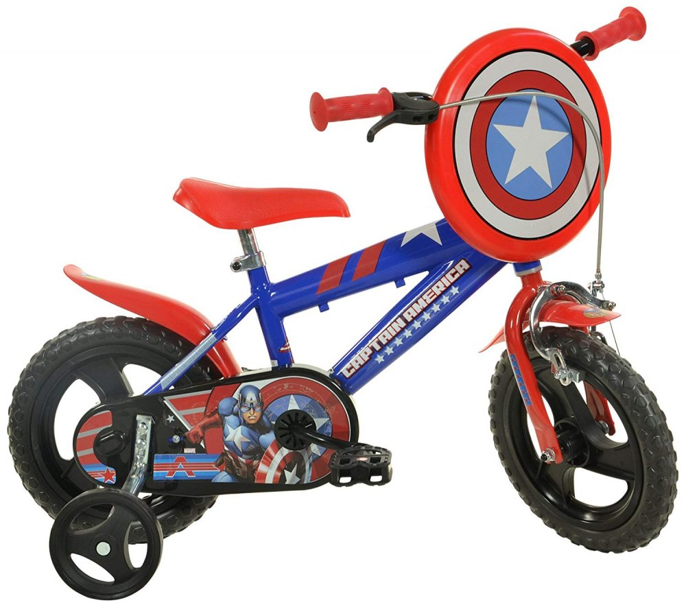 Dětské kolo Dino 412UL-CA Captain America 12