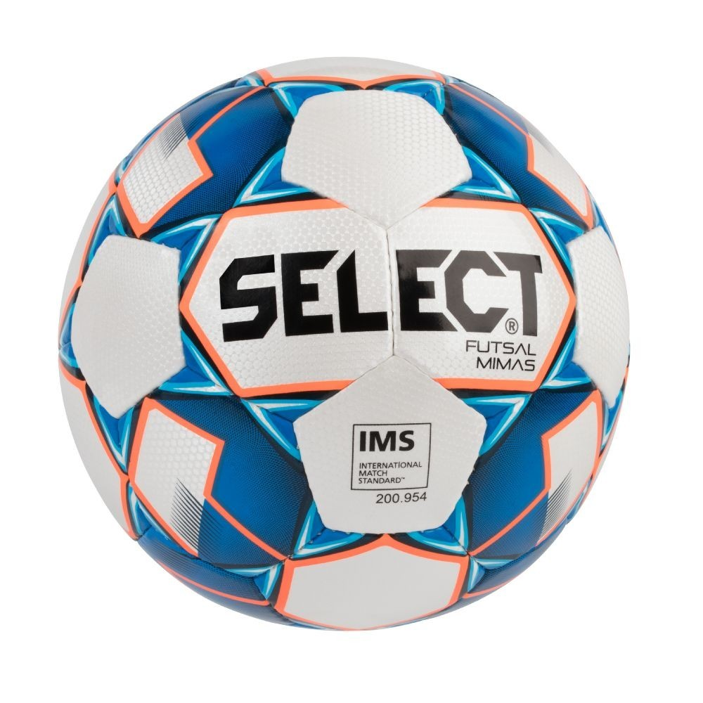 Futsalový míč Select FB Futsal Mimas bílo/modrá vel.4