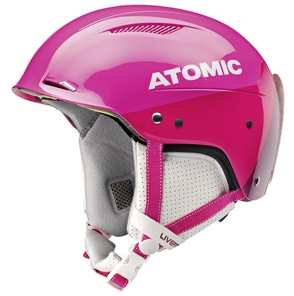 Lyžařská přilba Atomic Redster LF SL Pink