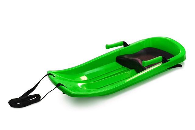 Plastový bob Acra Champion A2032 zelený