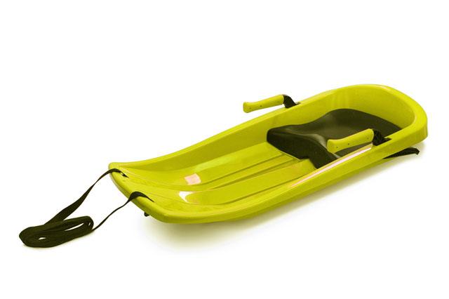 Plastový bob Acra Champion A2032 žlutý