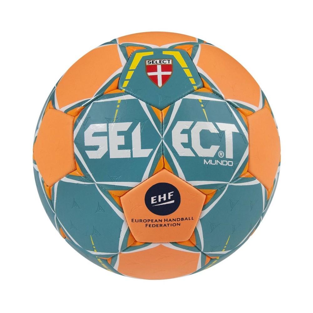 Házenkářský míč Select HB Mundo zeleno/oranžová