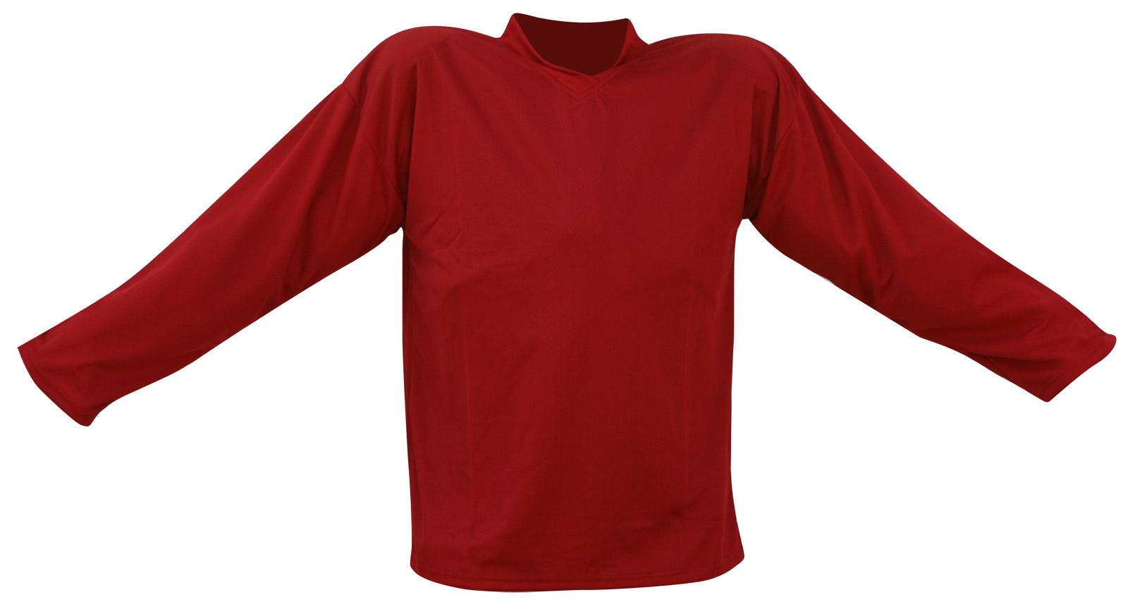 Hokejový dres červený