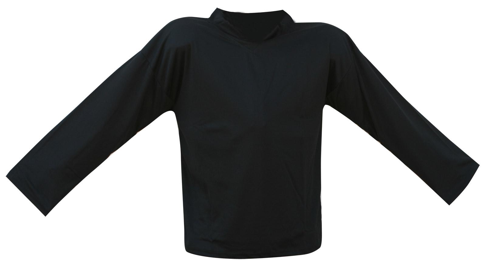 Hokejový dres černý