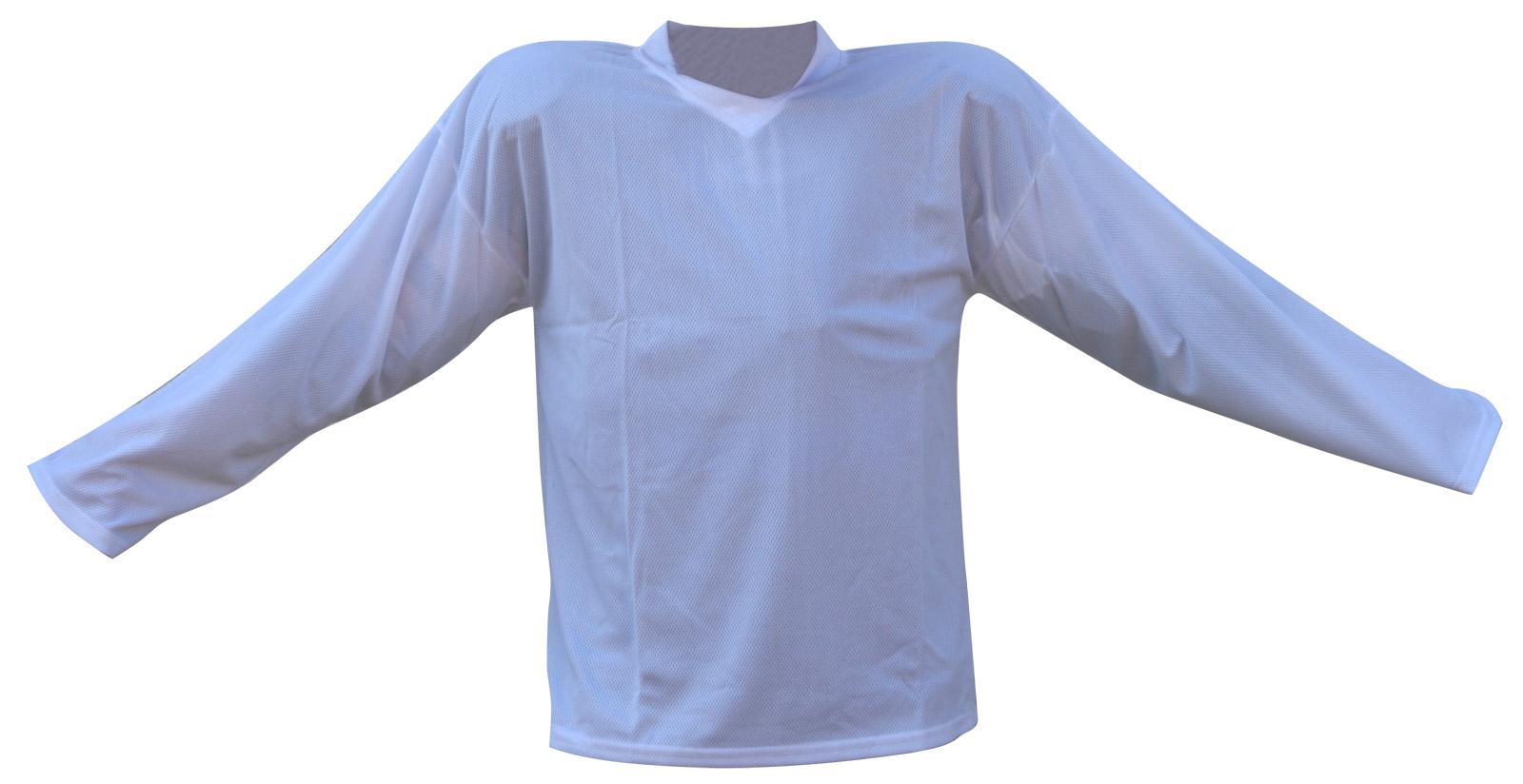 Hokejový dres bílý