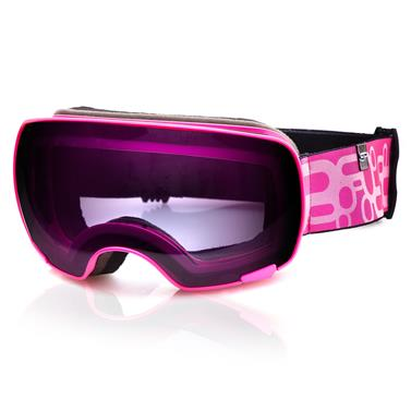 Lyžařské brýle Spokey Yoho růžové