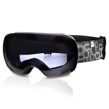 Lyžařské brýle Spokey Yoho černo-šedé