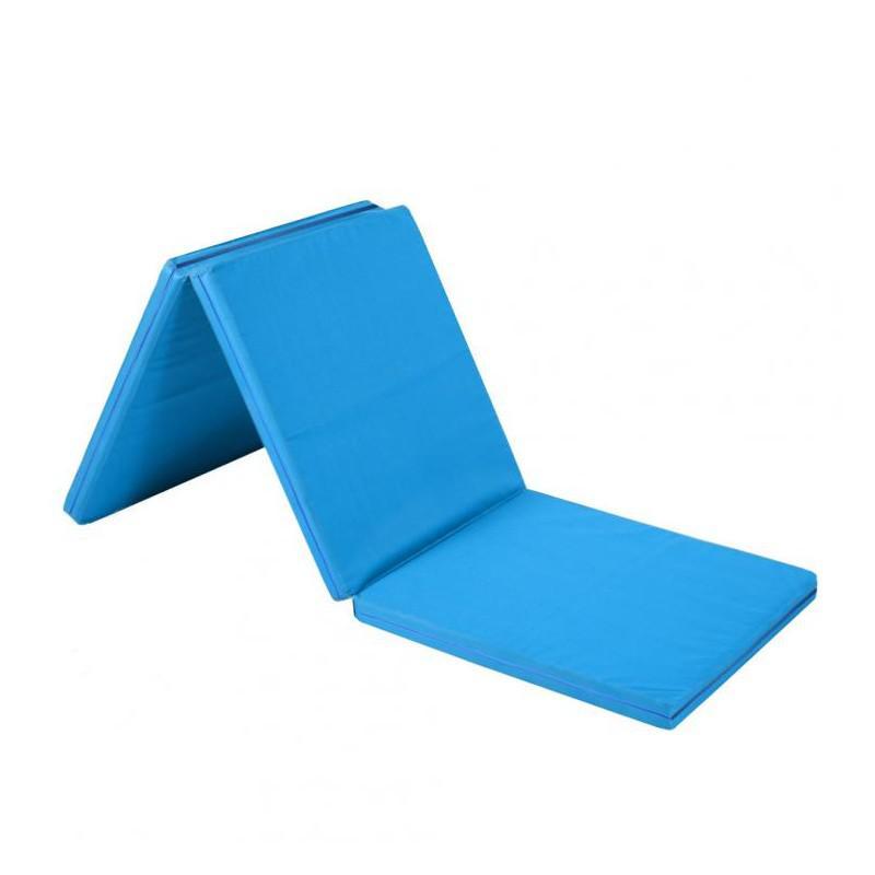 Žíněnka skládací třídílná Sedco 180x90x5cm modrá