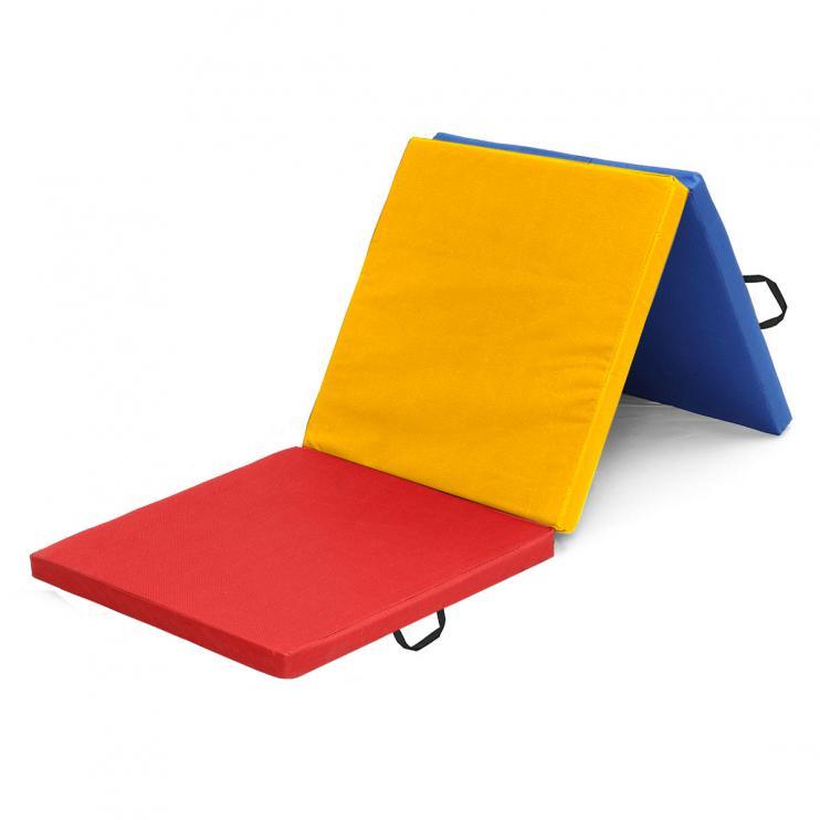 Žíněnka skládací třídílná Sedco 180x60x5cm barevná