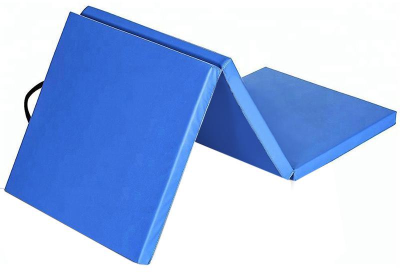 Žíněnka skládací třídílná Sedco 180x60x3,5cm modrá