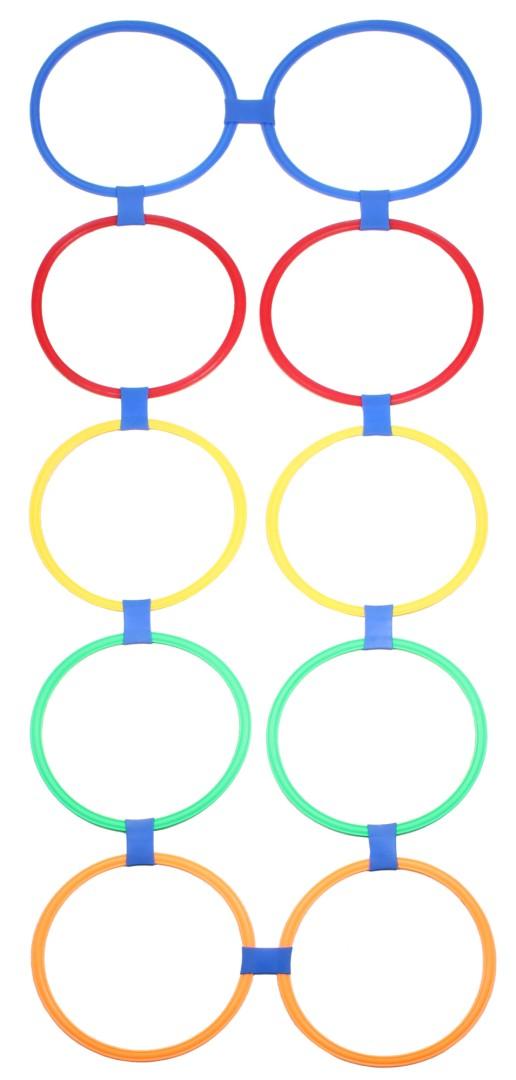 Nastavitelné proskakovací obruče Merco Agility Circles