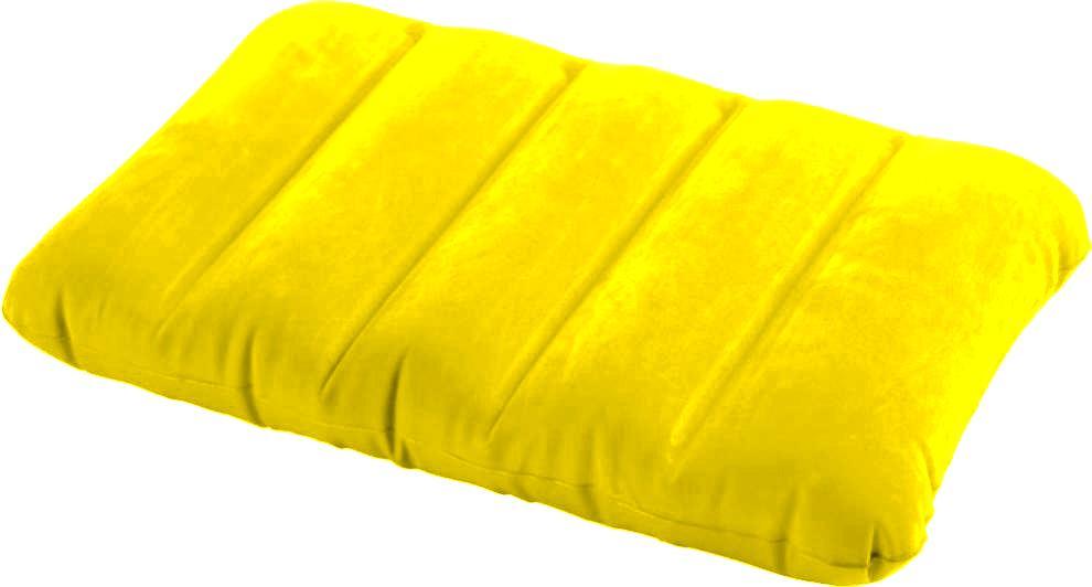 Nafukovací polštářek Intex 68676 Kidz žlutý
