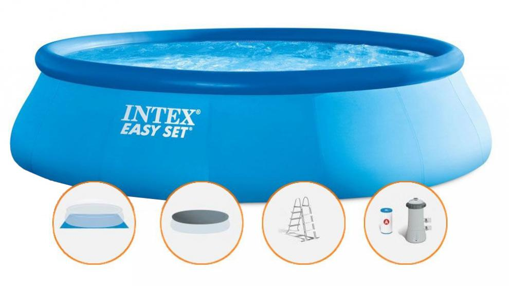 Bazén Intex Easy Set s filtrací 457x107cm