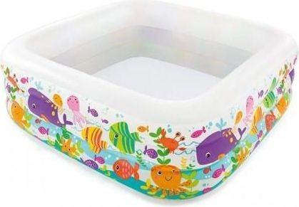 Bazén Intex 57471 Aquarium 159x159x50cm