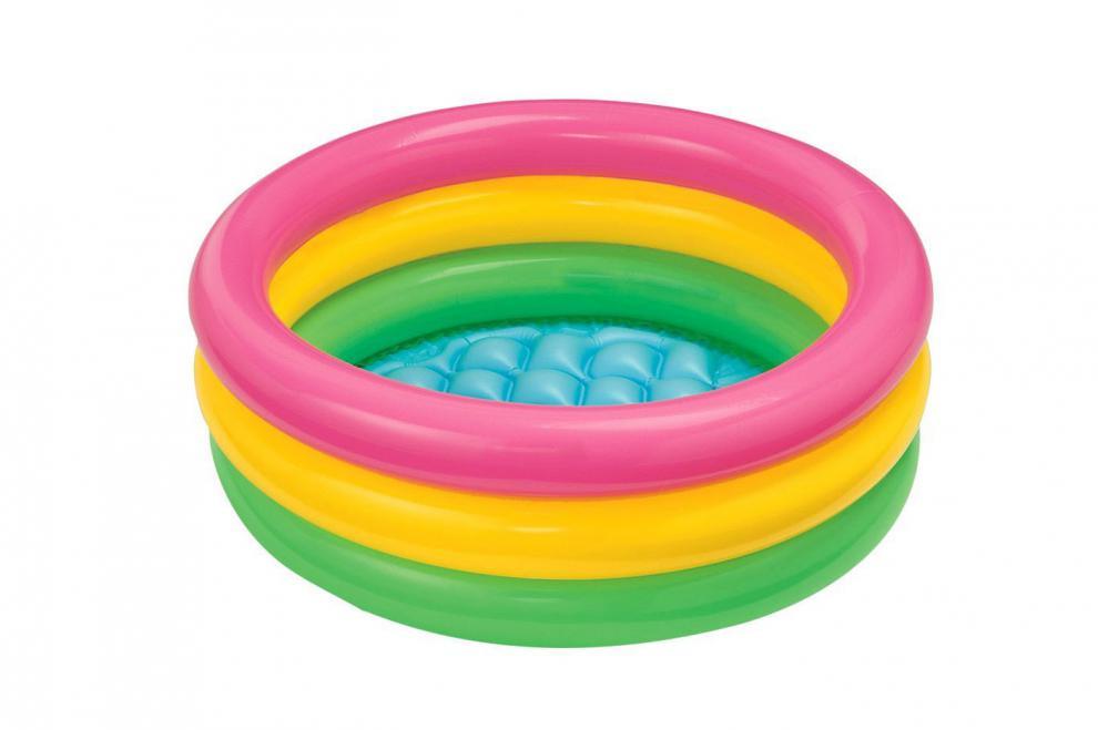 Nafukovací dětský bazén Intex Soft dno 86x25cm