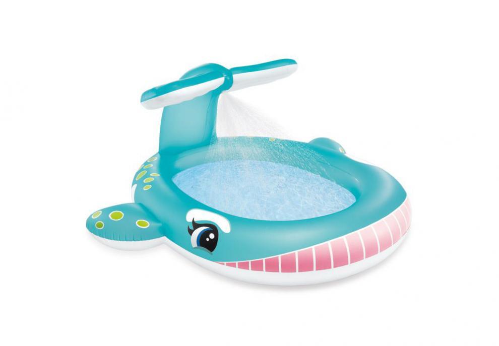 Dětský bazén Intex 57440 Velryba 201x196x91cm