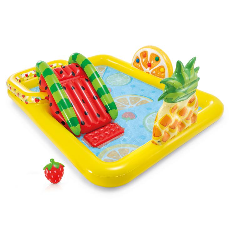 Hrací centrum Intex 57158 Fruity Play Center 244x190x92cm