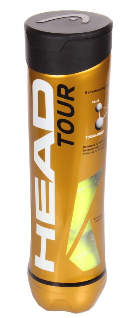 Tenisové míče Head Tour 4ks