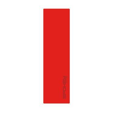 Samonafukovací karimatka Spokey Fatty 5cm červená