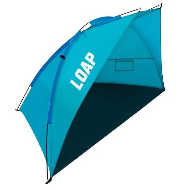 Plážový stan pro 2 osoby Loap Beach Shade M modrá