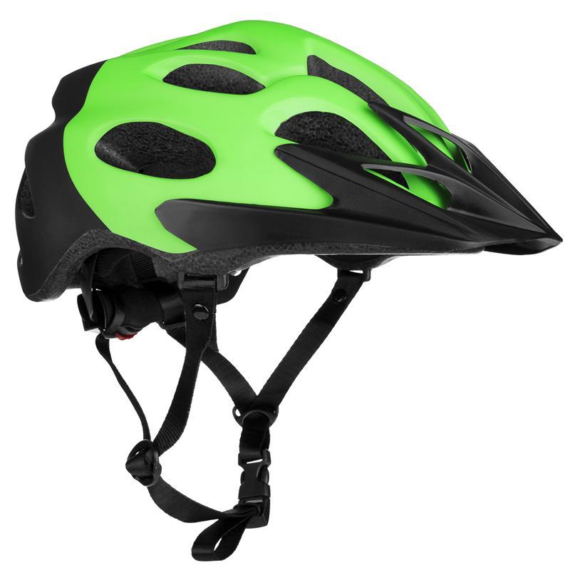 Cyklistická přilba Spokey Checkpoint zelená 58-61cm