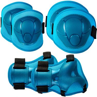 Dětské chrániče Spokey Buffer modré