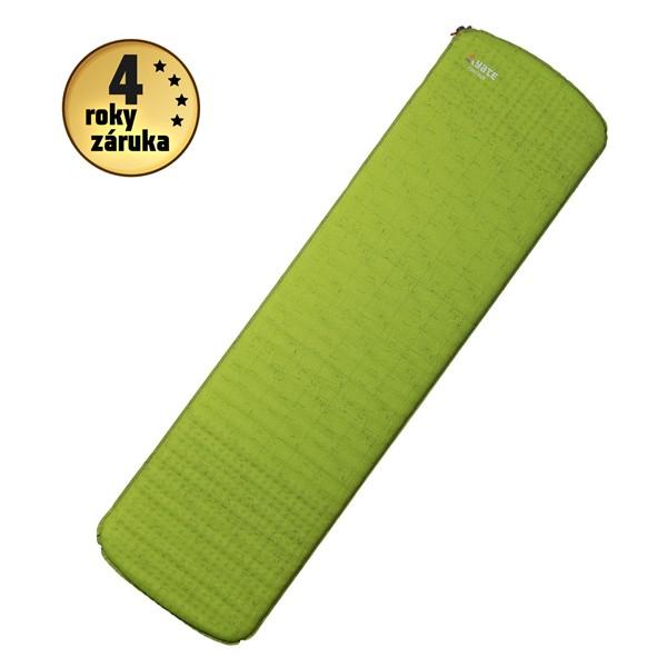 Samonafukovací karimatka Yate Contour zelená/šedá 3,8cm
