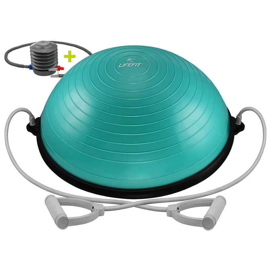 Balanční podložka Lifefit Balance Ball 58cm tyrkysová