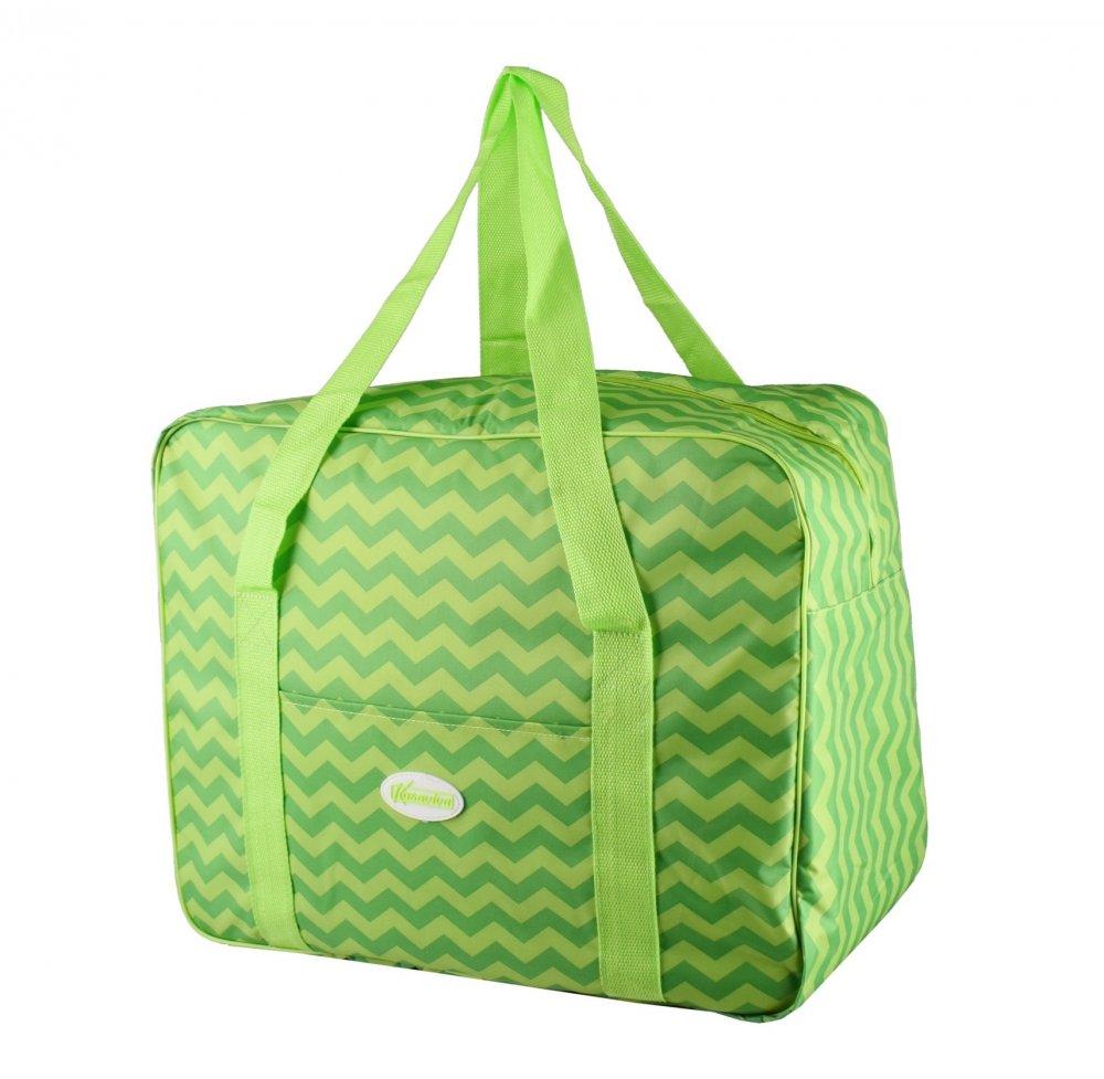 Plážová termotaška - chladící taška Kasaviva 7l zelená