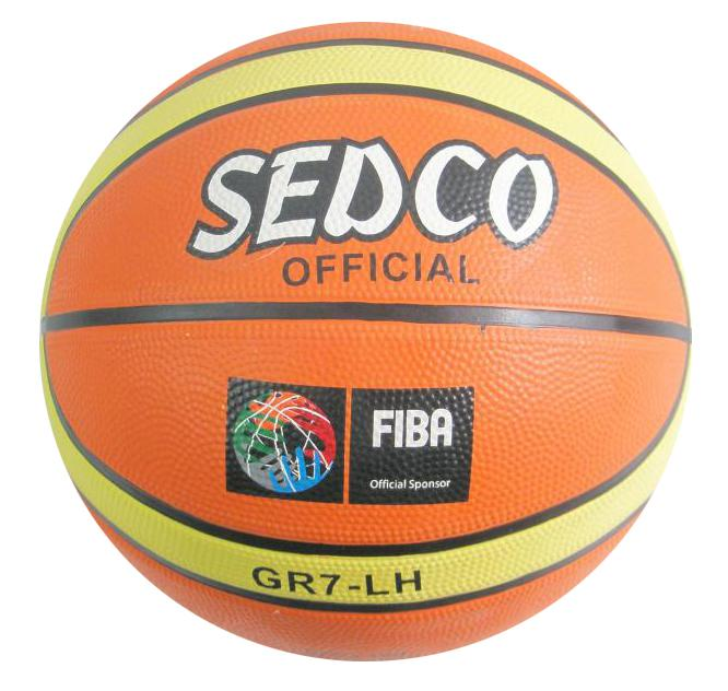 Basketbalový míč Sedco Orange Super vel.7