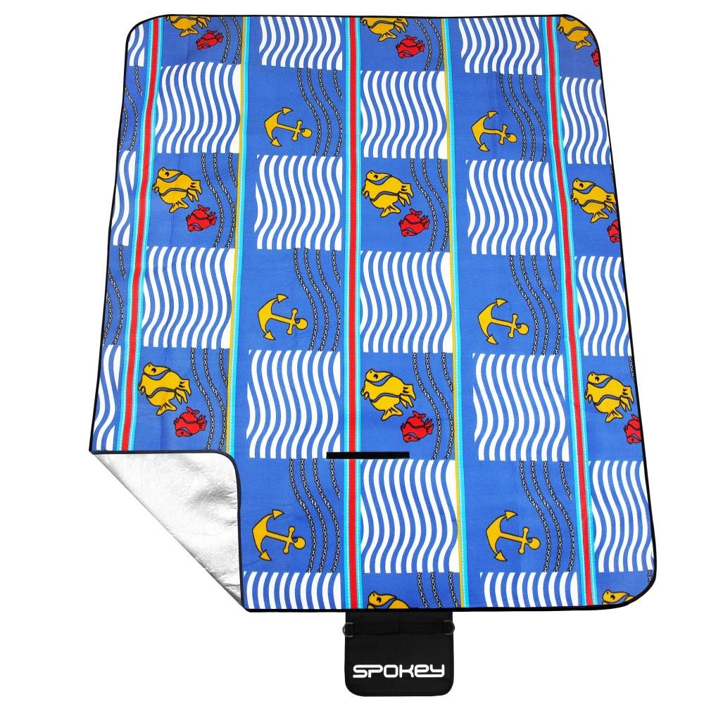 Pikniková deka s popruhem Spokey Picnic Amber 150x180cm