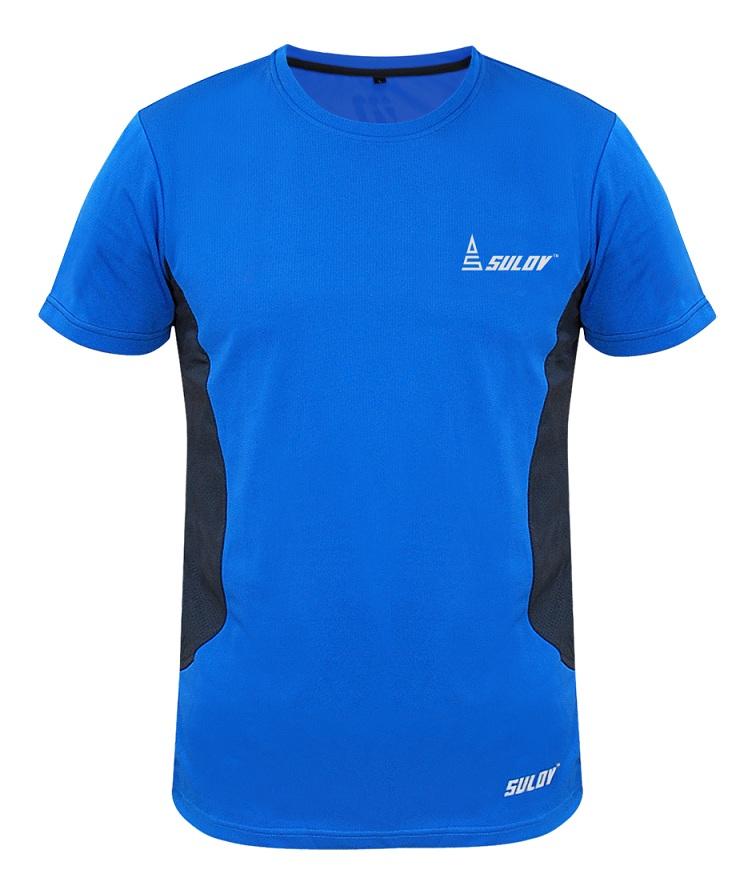 Pánské běžecké triko Sulov Runfit modré